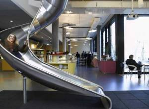 Het kantoor van Google (bron: www.technobuzz.net)