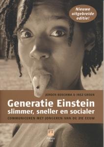Boek over de Generatie Einstein, o.m. te bestellen op bol.com