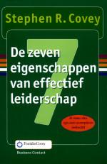Cover boek Stephen Covey